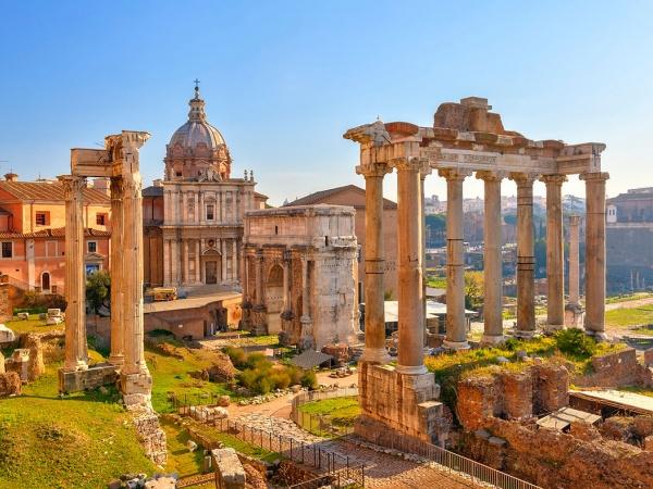 Римский форум, Рим, Италия, Европа
