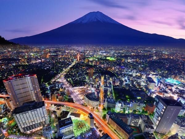 Гора Фудзи, Токио, Япония, Азия