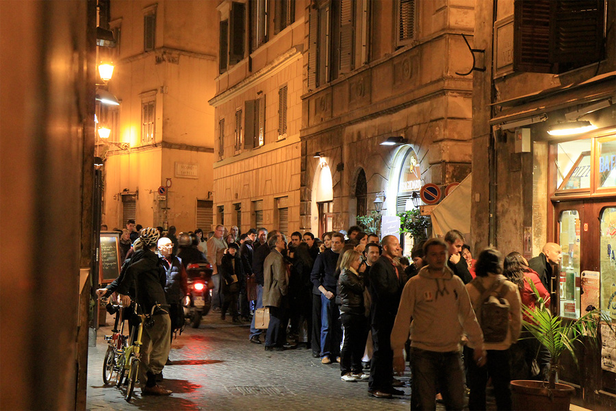 Пиццерия «У Баффетто», Рим, Италия, Европа