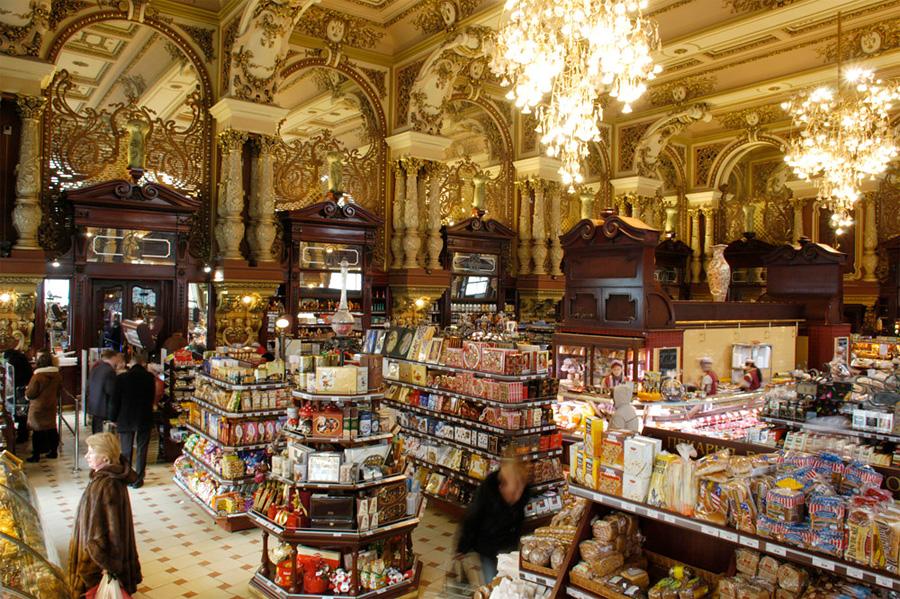 Елисеевский магазин, Москва, Россия, Европа