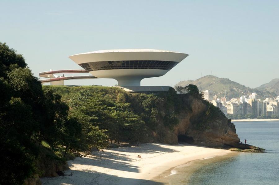 Музей современного искусства, Рио-де-Жанейро, Бразилия, Южная Америка